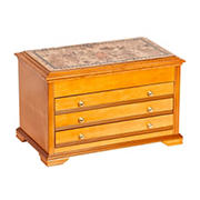 Mele Designs Lynnhurst Jewelry Box - Oak
