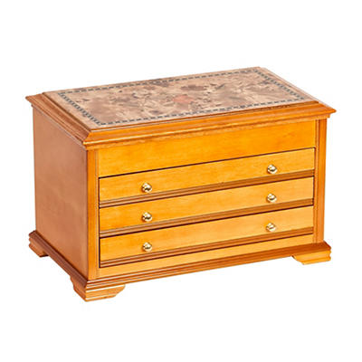 Mele Designs Lynnhurst Jewelry Box - Oak