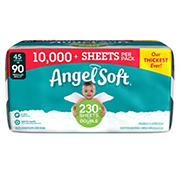 Angel Soft Toilet Paper Double Rolls, 45 ct.