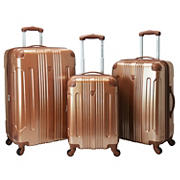 Travelers Club 3-Pc. Expandable Spinner Set - Copper