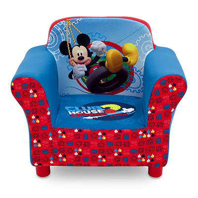 Delta Children Disney Mickey Mouse Upholstered Toddler Chair