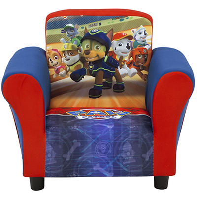 Delta Children Nickelodeon PAW Patrol Upholstered Toddler Chair
