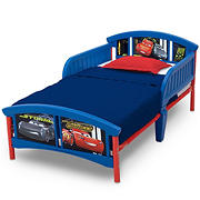 Delta Children Disney/Pixar Cars Plastic Toddler Bed