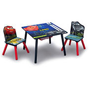 Delta Children Disney/Pixar Cars 3-Pc. Table and Chair Set with Storage