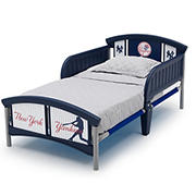 Delta Children New York Yankees Plastic Toddler Bed
