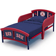 Delta Children Boston Red Sox Plastic Toddler Bed