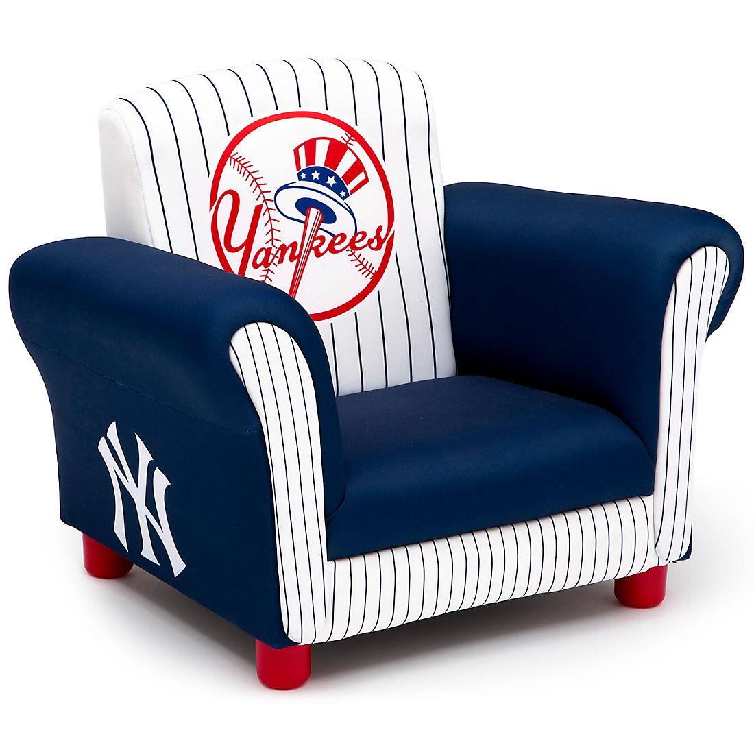 Delta Children New York Yankees Kids Upholstered Toddler Chair