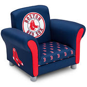 Delta Children Boston Red Sox Kids Upholstered Toddler Chair