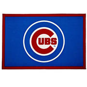 "Delta Children Chicago Cubs 4' x 2'6"" Soft Area Rug"