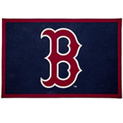 "Delta Children Boston Red Sox 4' x 2'6"" Soft Area Rug"