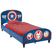 Delta Children Marvel Avengers Twin Size Upholstered Bed