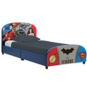 Delta Children DC Justice League Twin Size Upholstered Bed