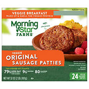 MorningStar Farms Original Sausage Patties, 24 pk./1.3 oz.