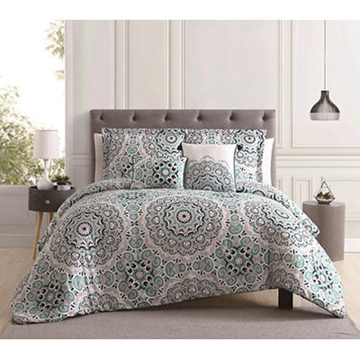 Lily and Emelee Lara and Lynn 5-Pc. Queen-Size Comforter Set