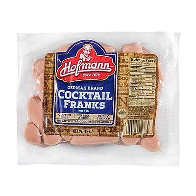 Hofmann German Brand Cocktail Franks, 36 oz.