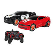 World Tech Toys Ford Mustang Battle Pursuit Remote Control Car, 2 pk.