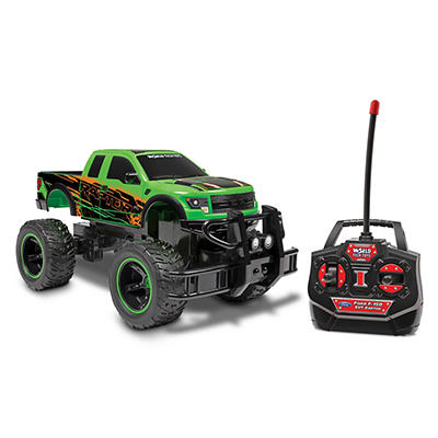 World Tech Toys Ford F-150 SVT Raptor Remote Control Monster Truck