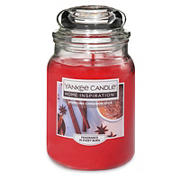 Yankee Candle Jar Candle, 19 oz. - Sparkling Cinnamon Spice