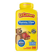 L'il Critters Gummy Vites Multivitamin Dietary Supplement, 300 ct.