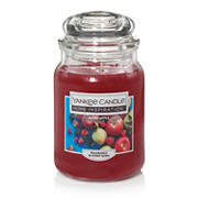 Yankee Candle Jar Candle, 19 oz. - Berry Apple