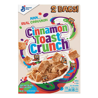 Cinnamon Toast Crunch Cereal, 49.5 oz.