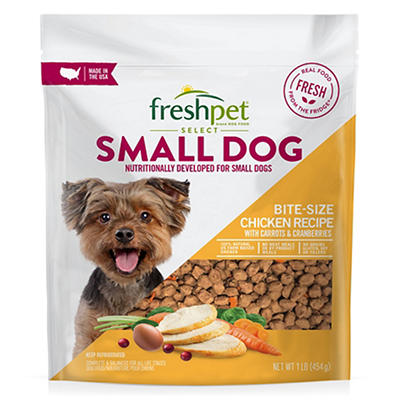 Freshpet Select Small Dog Bite Sized Chicken Recipe, 1 lb.