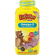 L'il Critters Omega-3 Dietary Supplement Gummies, 220 ct.