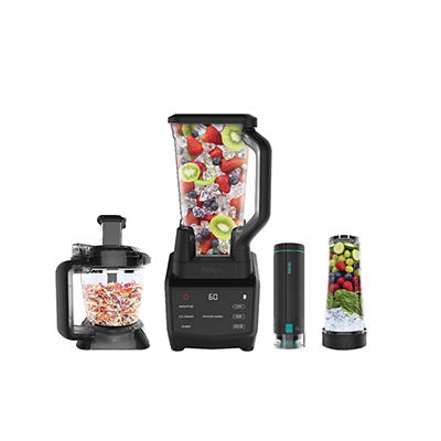 Ninja Smart Screen 1000W Kitchen Blender and Food Processor System wit
