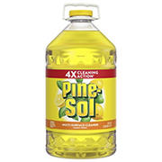 Pine-Sol Lemon-Scent Cleaner, 175 oz.