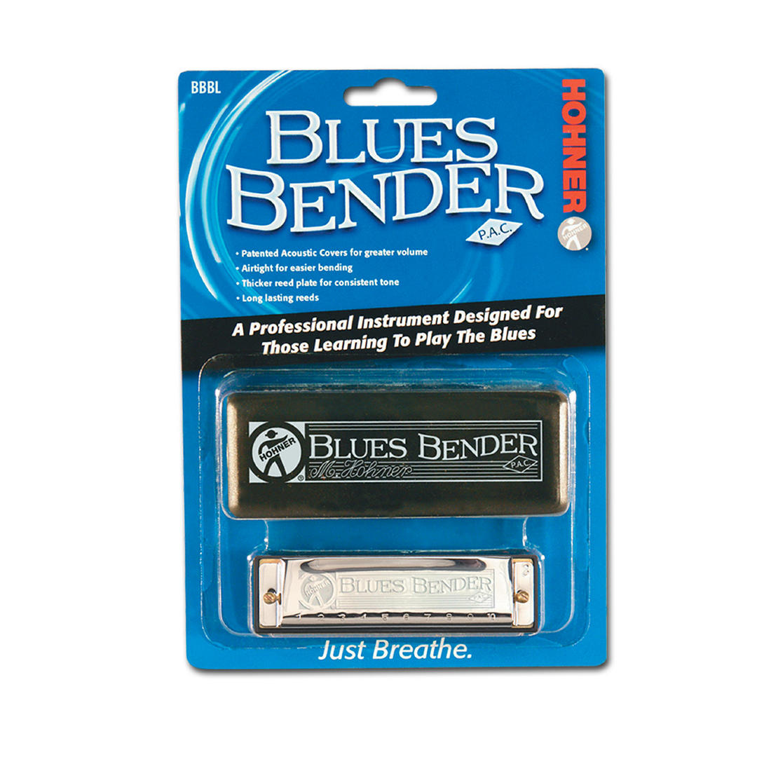 Hohner Blues Bender Key of C Harmonica