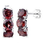 Amairah 1.75 ct. t.w. Garnet Earrings in Sterling Silver