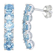 Amairah 1.75 ct. t.w. Blue Topaz Earrings in Sterling Silver