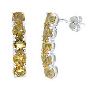Amairah 1.75 ct. t.w. Citrine Earrings in Sterling Silver