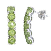 Amairah 1.75 ct. t.w. Peridot Earrings in Sterling Silver