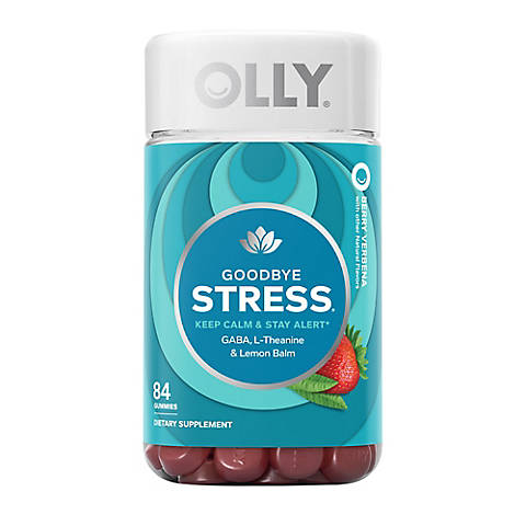 Olly Goodbye Stress Dietary Supplement 84 Ct Bjs Wholesale Club