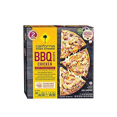 California Pizza Kitchen BBQ Chicken Recipe Pizza, 2 pk./14.7 oz.