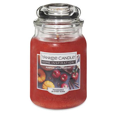Yankee Candle Jar Candle, 19 oz. - Pumpkin Apple Harvest