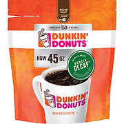 Dunkin Donuts Decaffeinated Ground Coffee, 45 oz.