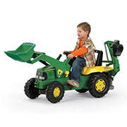 John Deere Backhoe Loader Tractor