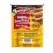Zweigle's Skinless Texas Frank, 3 lbs.