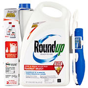 Roundup Ready-to-Use Weed and Grass Killer Plus, 1.33 gal. with Bonus Concentrate Refill, 2 pk./7 oz.