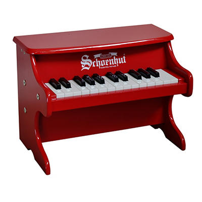 Schoenhut 25-Key My First Piano II - Red