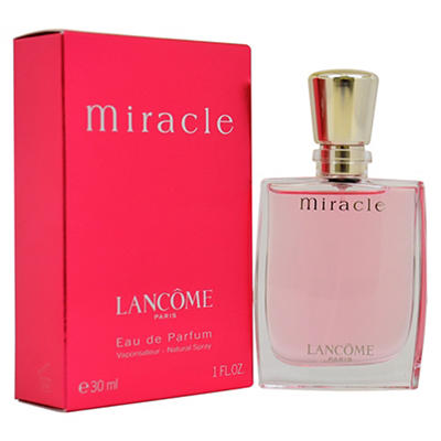 Miracle by Lancome Eau de Parfum Spray, 1 fl. oz.