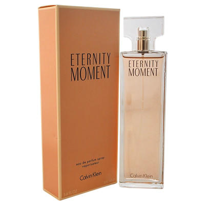 Eternity Moment by Calvin Klein Eau de Parfum Spray, 3.4 fl. oz.