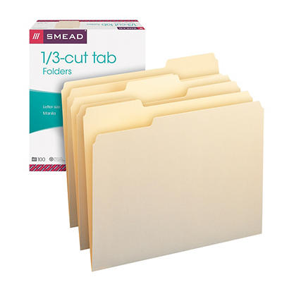 Smead Manilla Folders, 150 ct.