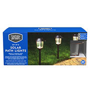 Berkley Jensen 10-Lumen Solar Pathway Lights, 8 pk. - Oil-rubbed Bronze
