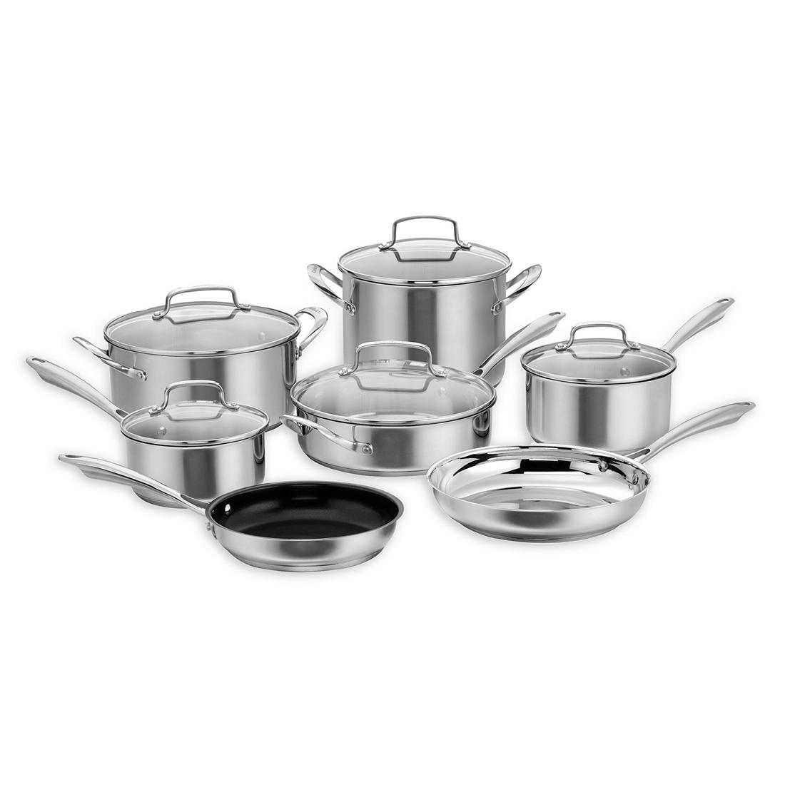Cuisinart Professional 12 Pc Stainless Cookware Set
