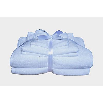 Berkley Jensen Cotton Combination Towel Set, 6 pk. - White