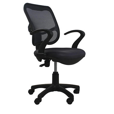 Techni Mobili Mesh Task Chair - Black