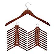 Honey-Can-Do Top Hanger, 20 pk. - Cherry